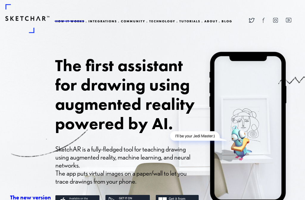 Start drawing easily using augmented reality  SketchAR