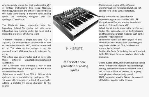 synths, modules and metal