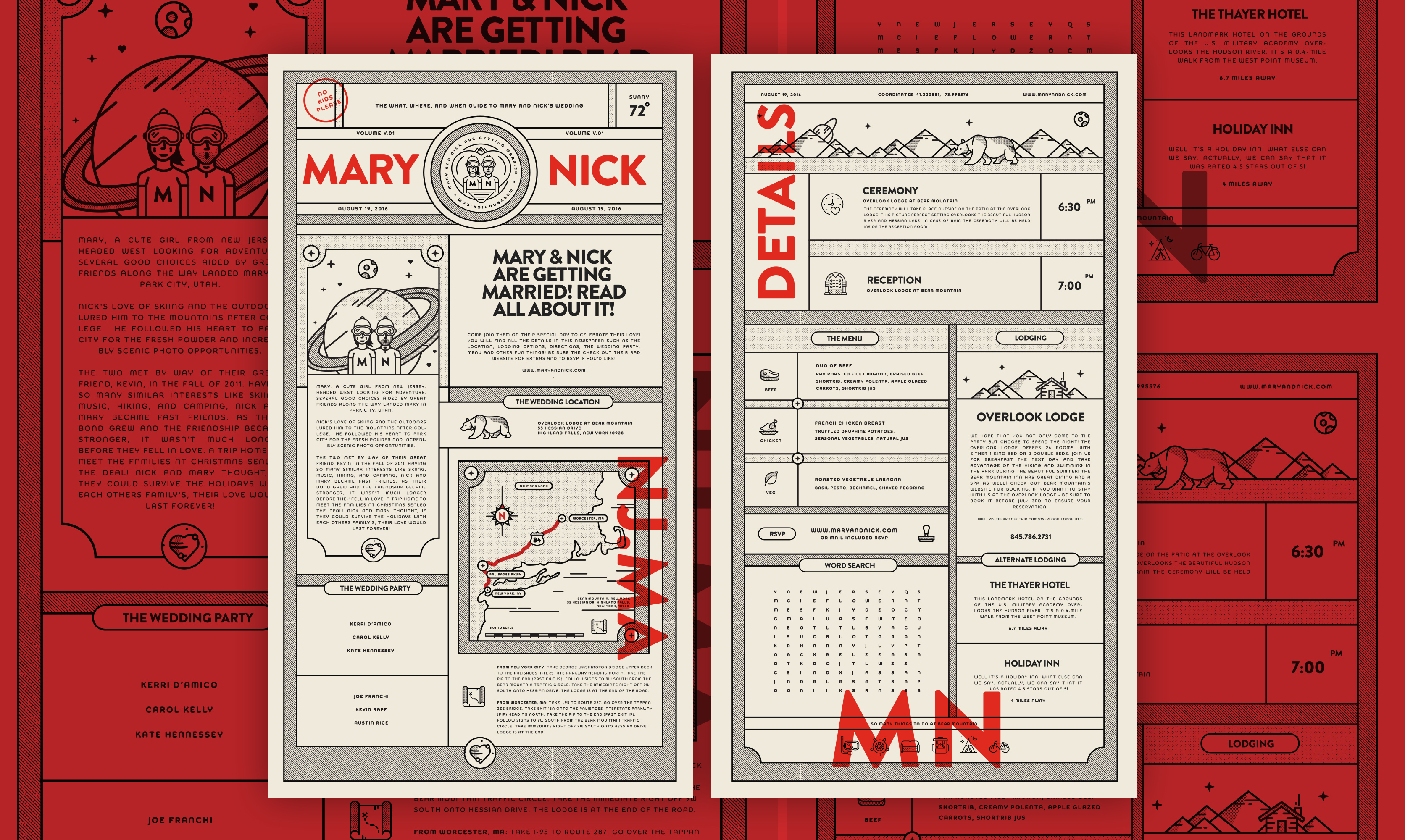 Portfolio of Nick Franchi — Wedding Invites