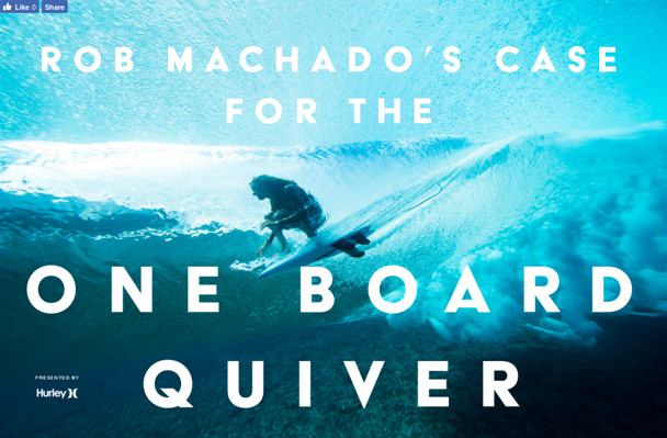 fe4a17be78 Rob Machado s Case for the One-Board Quiver