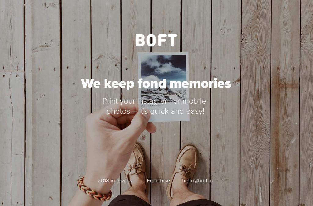 Boft — Instagram Printing Machines