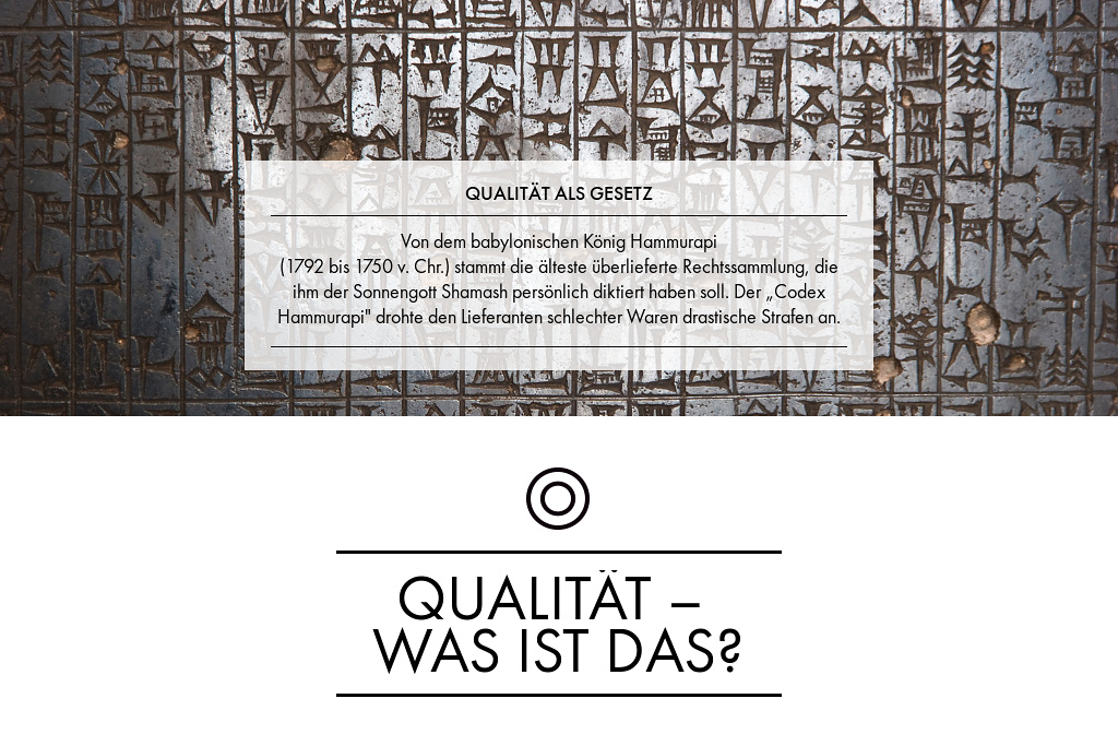Essential - November 2015 — Qualität – was ist das?