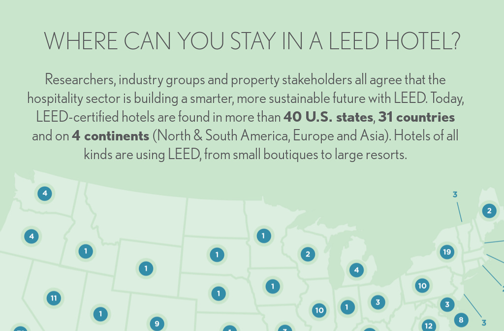 Where Are Leed Hotels From Leed In Motion Hospitality By Usgbc