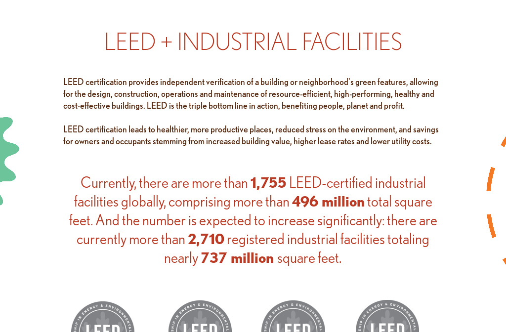 Leed Industrial Facilities From Leed In Motion Industrial