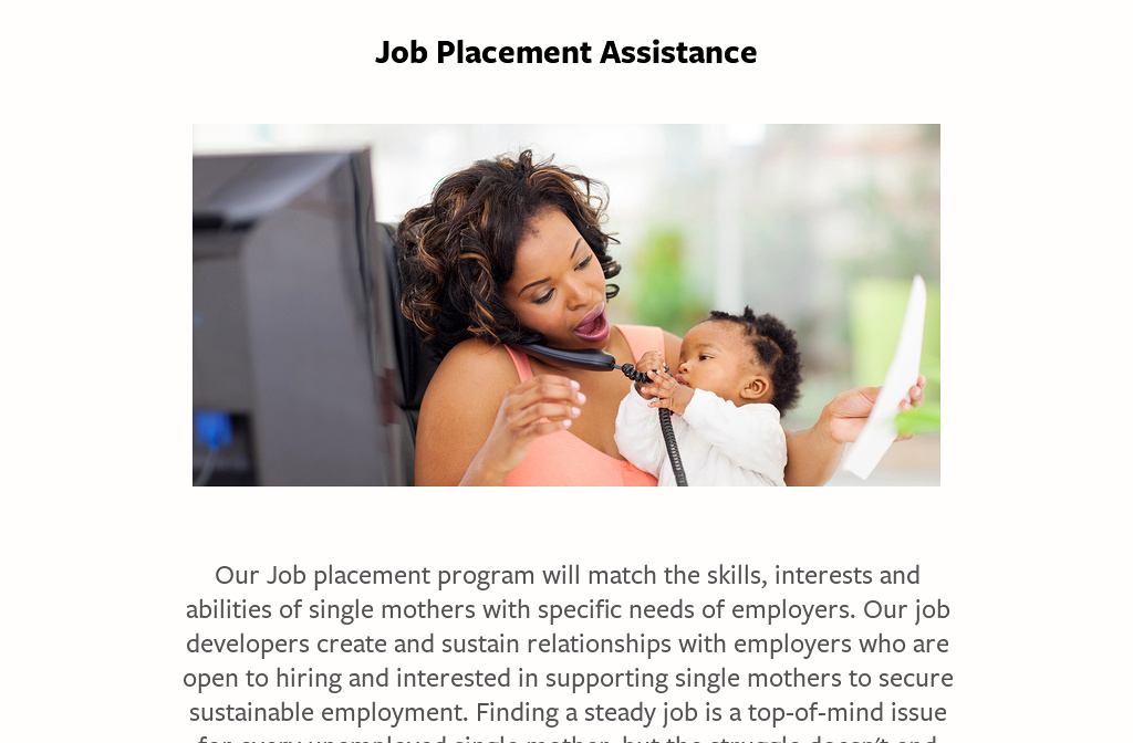 how to start career single mother