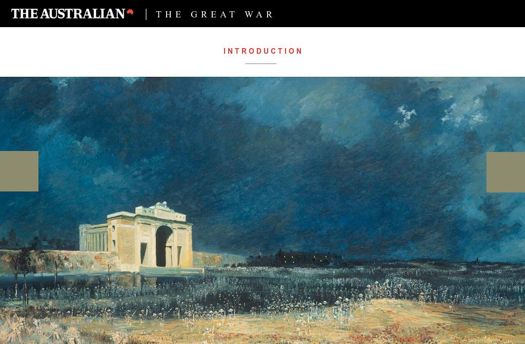 The Great War - Part Three: The Darkest Days — Introduction