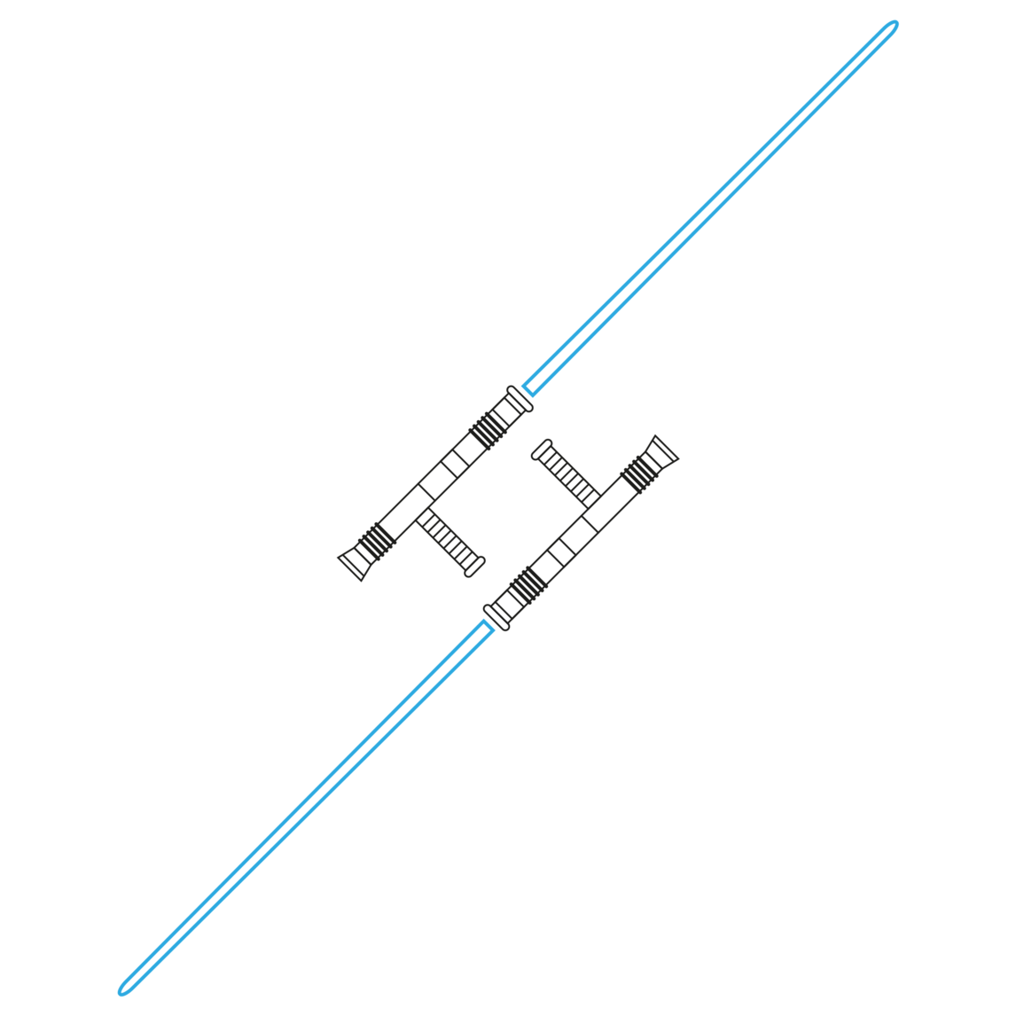 Star Wars Saber Variations By Abb D Choudhury Guard Shoto