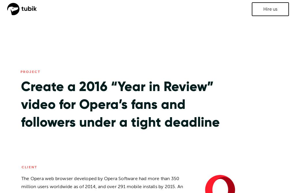 Works — Opera | Tubik Studio — Page 2