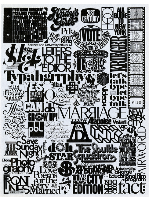 Lubalins Rough Sketch And A Finished Poster Showing Collage Of Logo Designs Produced By Himself The Designers In His Studio Tom Carnase