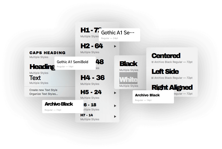 Font Combinations Library — Page 2