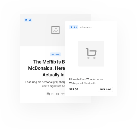 Blocke Web UI Kit