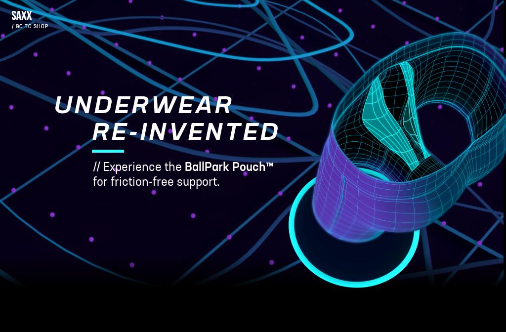 be609be16498e9 Underwear Reinvented   SAXX Underwear with The BallPark Pouch