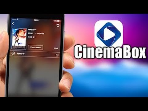 CinemaBox HD App for iPhone, iPad and iOS Download