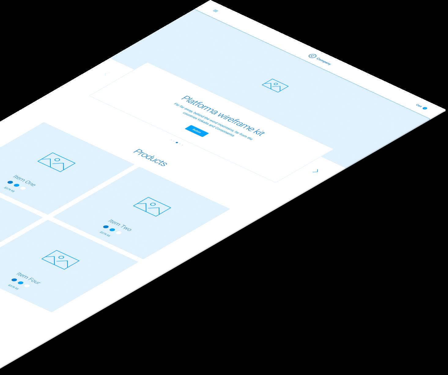 Duplicated Platforma Wireframe Kit