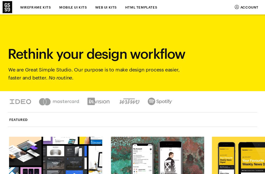 Great Simple Studio - Useful tools for designers