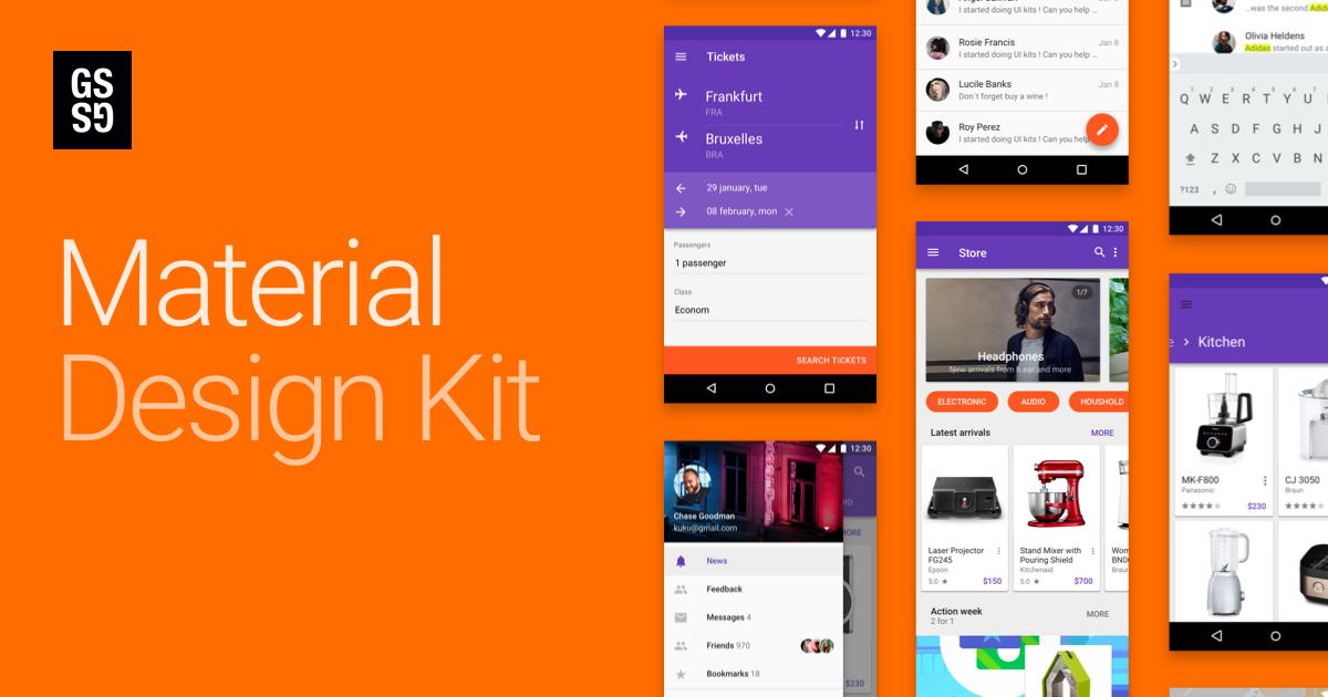Material Design Kit