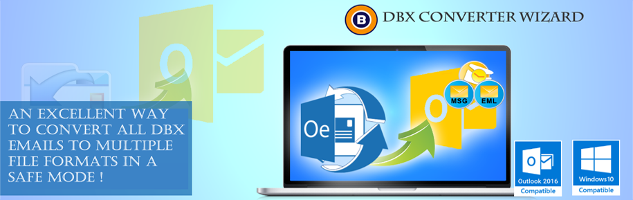 DBX Converter to Convert Outlook Express DBX to PST
