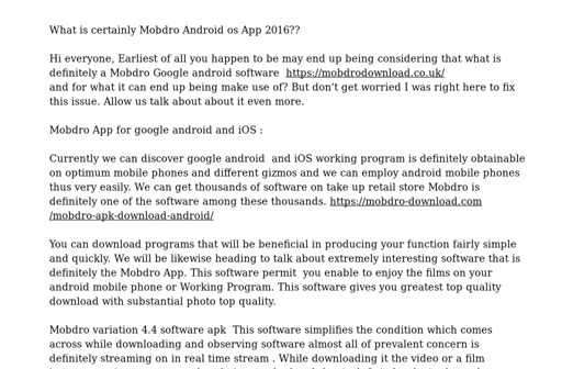 Mobdro Download Install Mobdro free on iOS, Android & PC