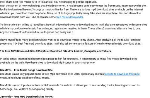 download music for free online to computer