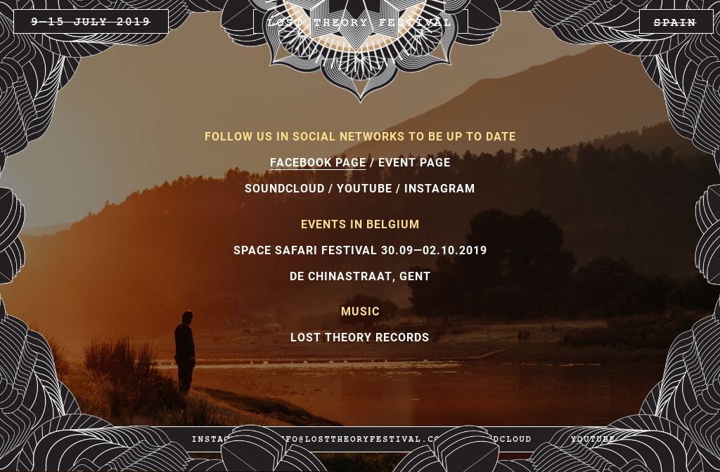 Lost Theory Festival 2019 : links