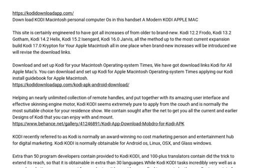 kodi 15.2 isengard download for mac