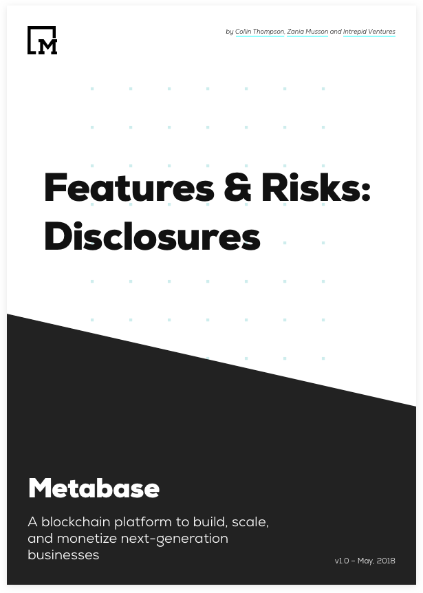 Metabase | High Performance Blockchain Technology and Smart