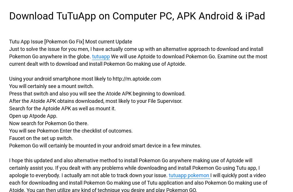 download tutu app on computer