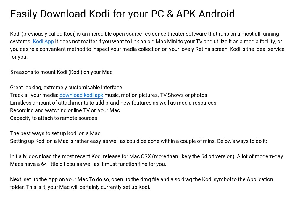 Easily Download Kodi for your PC & APK Android