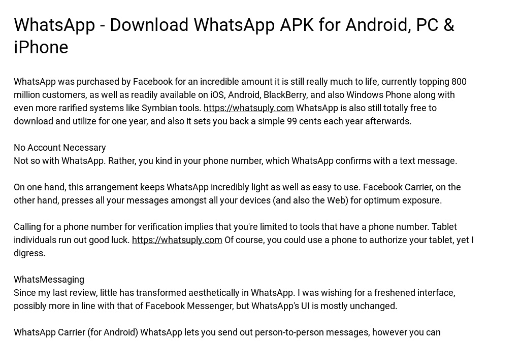 WhatsApp - Download WhatsApp APK for Android, PC & iPhone