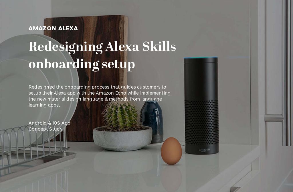 NICKY WONG — Amazon Alexa