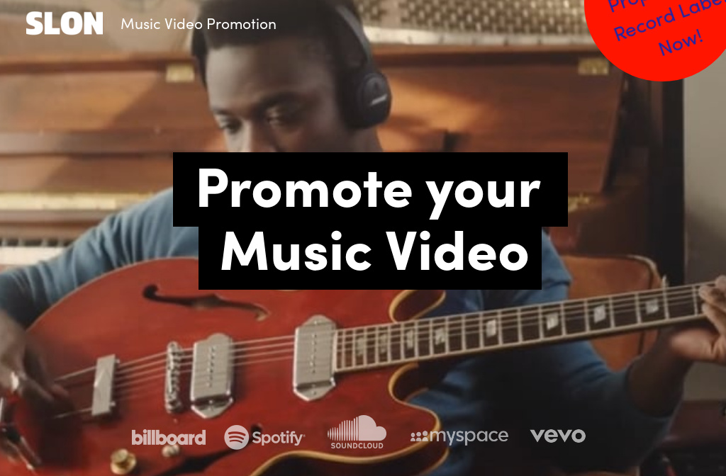 New Music Video Promotion