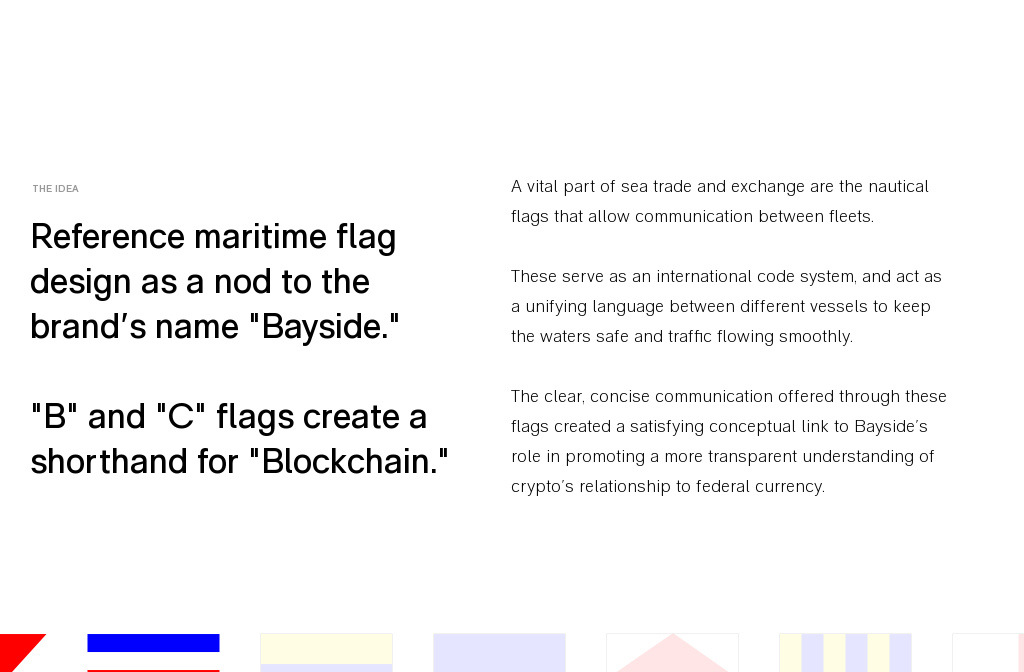 Rainfall designed the Bayside Blockchain Identity and