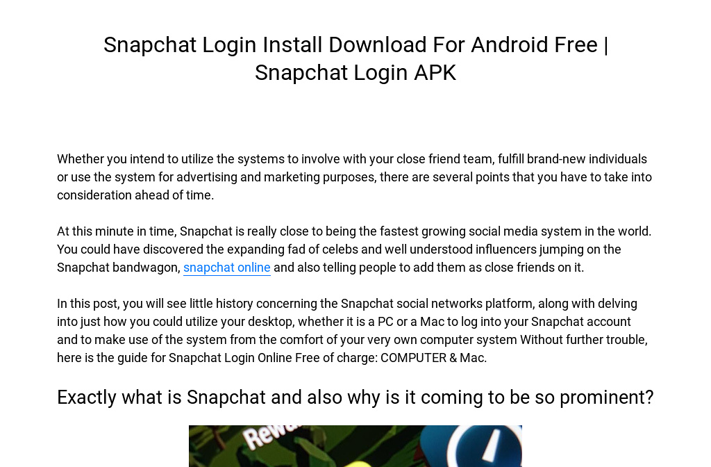 download snapchat on computer free