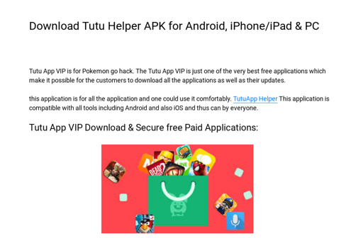 Download Tutu Helper APK for Android, iPhone/iPad & PC
