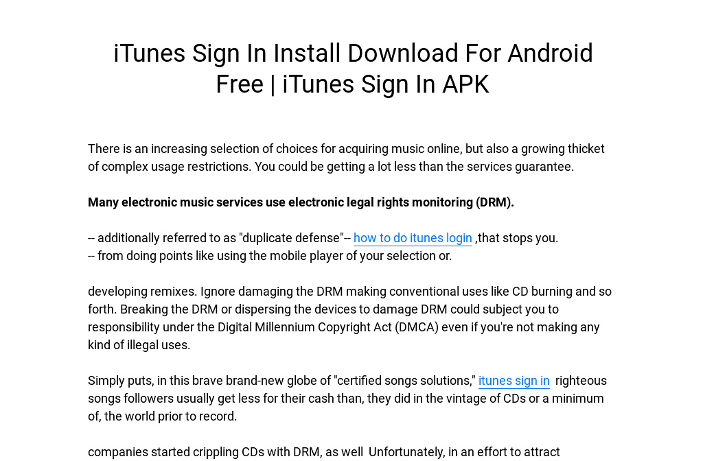 Download Free Itunes Songs