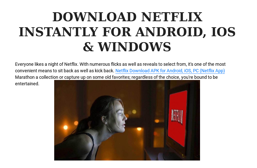 netflix download apk for android