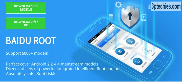 Baidu Root Download for your Android Smartphone & PC