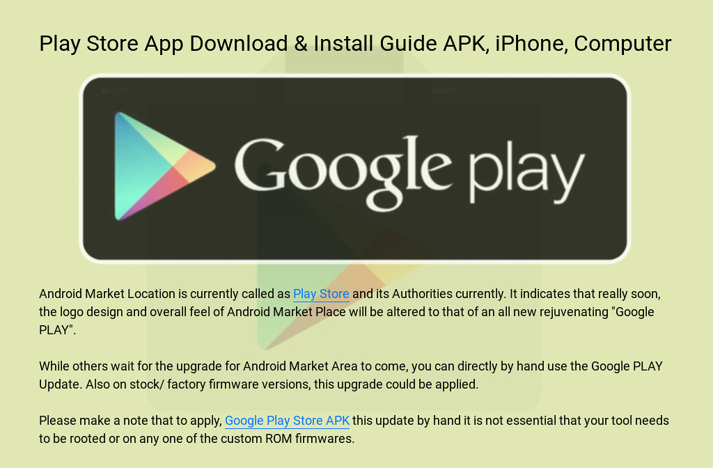 can i download google play apps on iphone