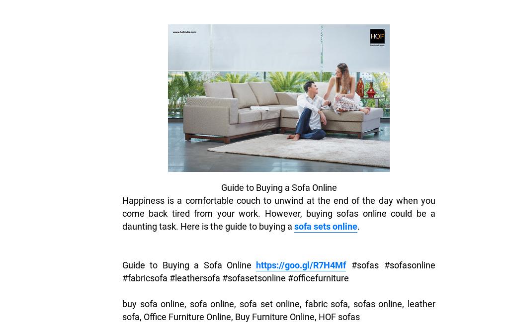 U0027Guide To Buying A Sofa Onlineu0027 By Anaya Sharma | Readymag