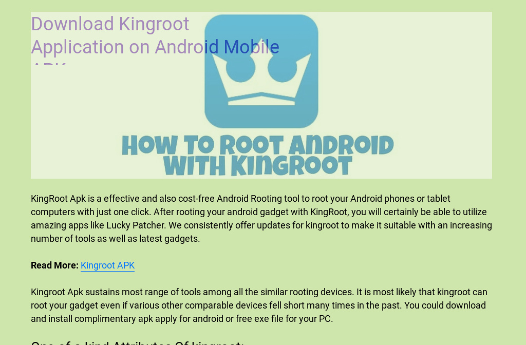 kingroot free for android