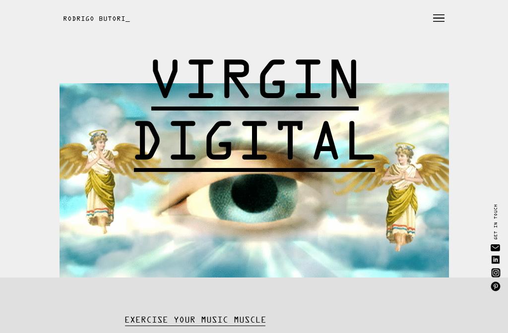 Rodrigo Butori - Virgin Digital