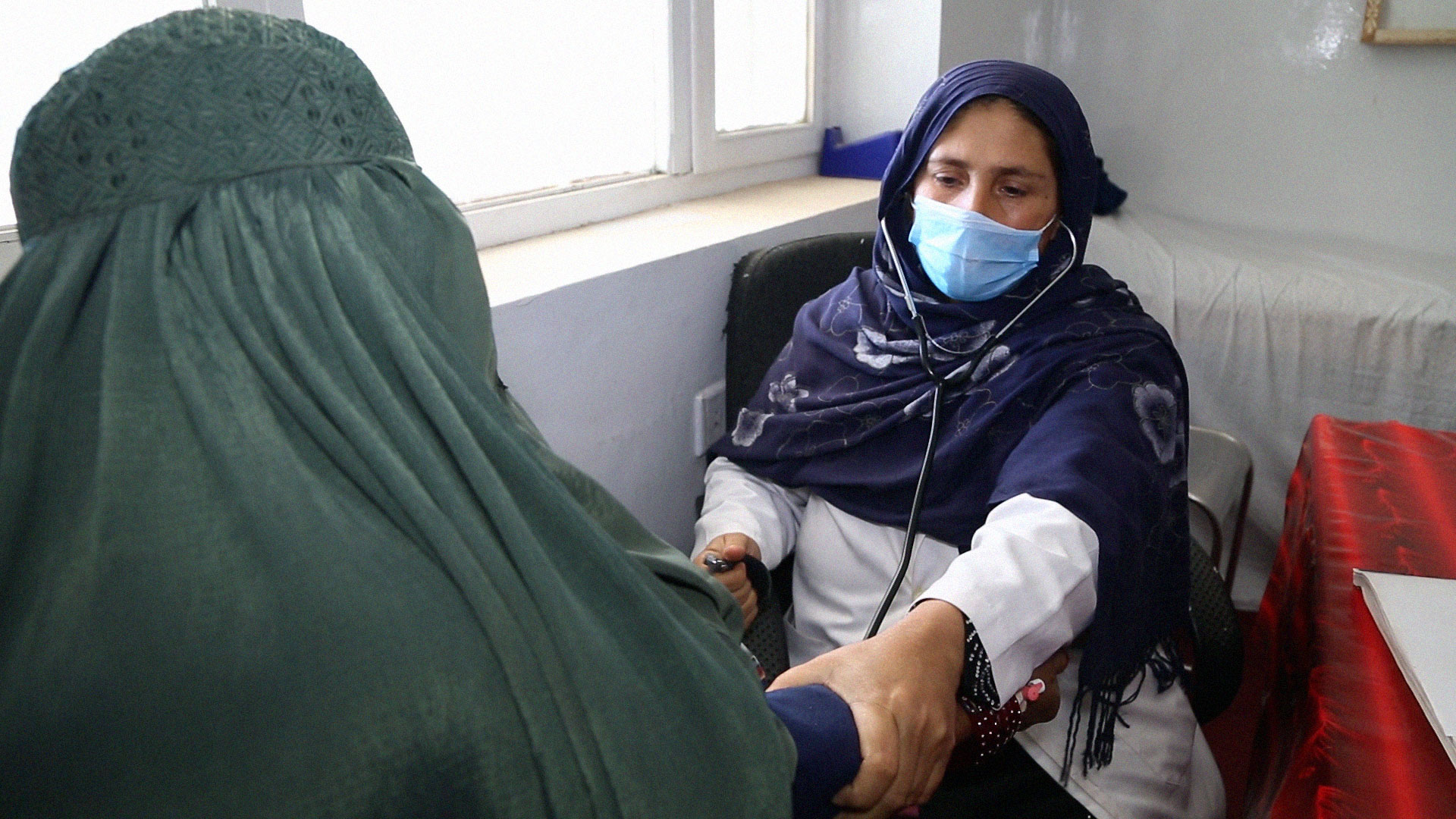 Delivering health in conflict: A different approach in Afghanistan