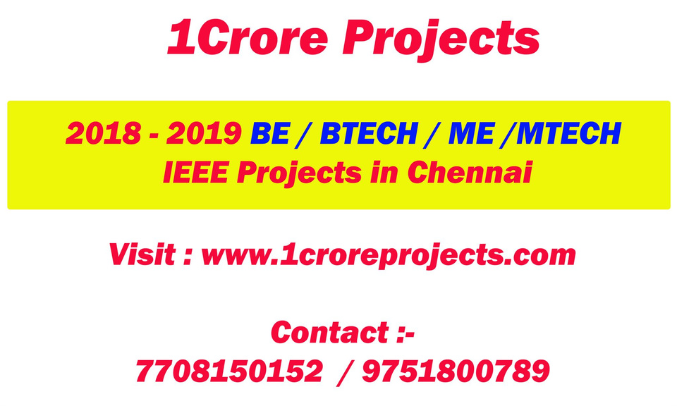 CSE Diploma Projects in Chennai