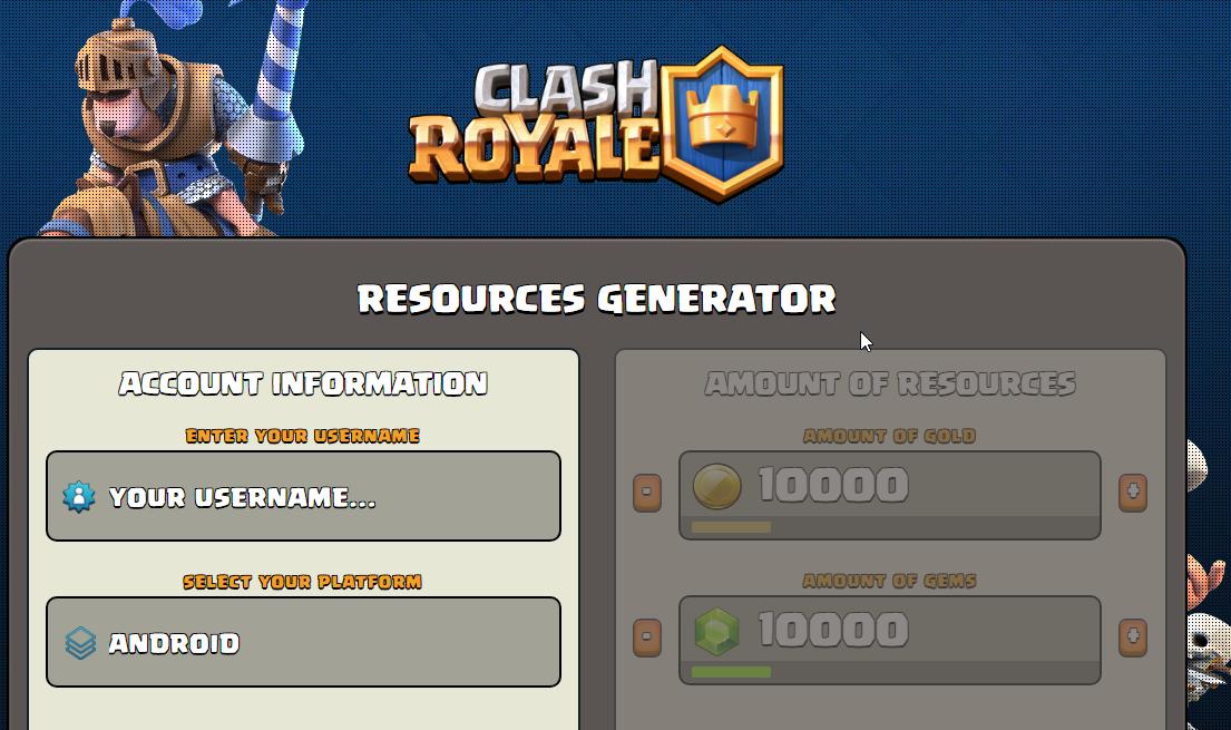 clash royale gem hack no verification or survey