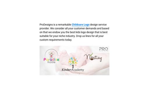Children & Child Care Logo Design