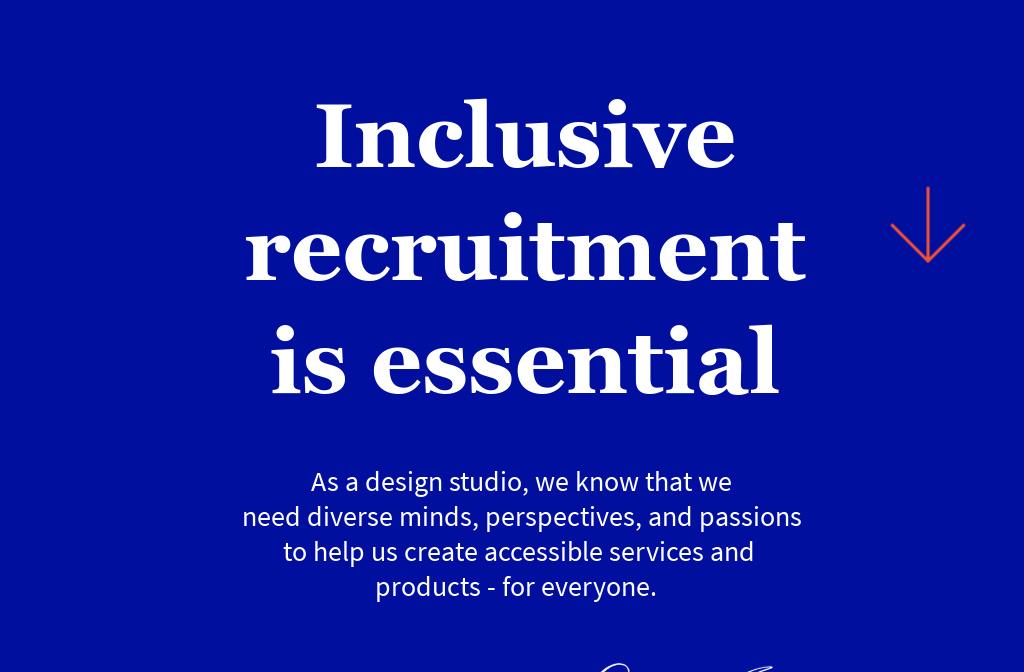 Inclusive Recruitment