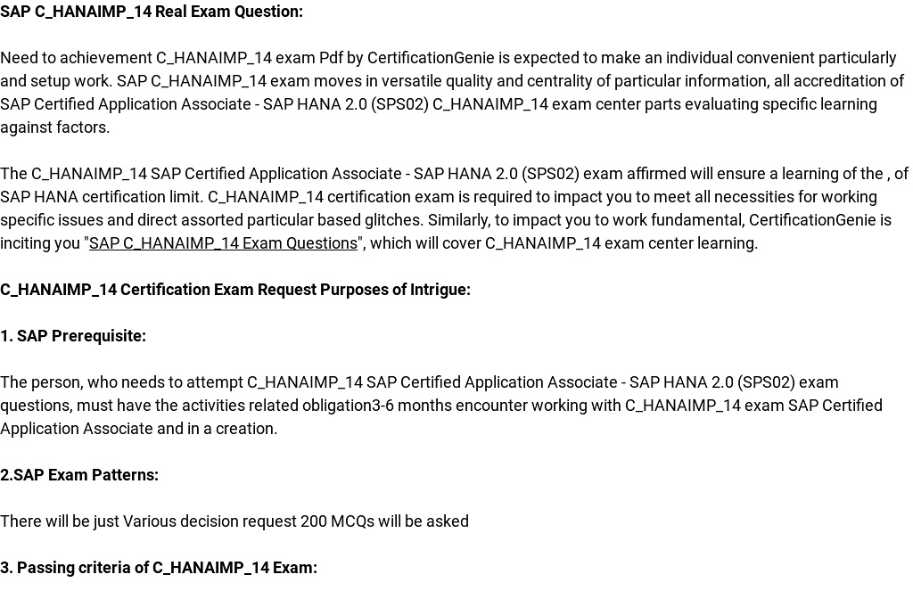 sap hana certification guide application associate exam