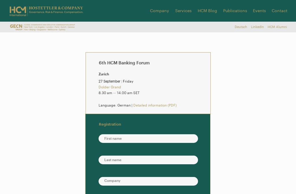 HCM Banking Forum